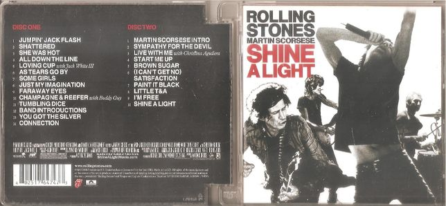 The Rolling Stones - Martin Scorsese - Shine A Light - 2cd - 2xcd 2008