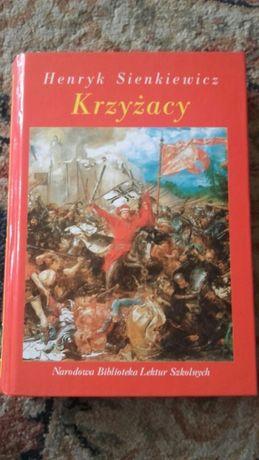 """Sprzedam """"Krzyżaków"""" Henryka Sienkiewicza z opracowaniem"""