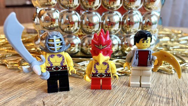 Lego minifigurki 3 sztuki, ninjago, chima