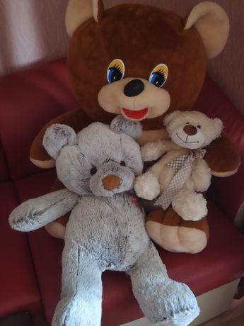 Игрушки мягкие 3 медведя