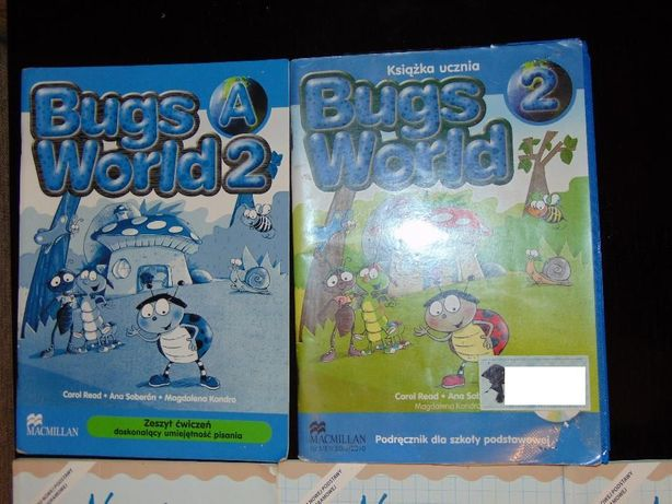 Bugs World 2 - 2 szt. Macmillan