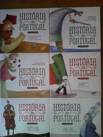 Coleção Completa História de Portugal, plano ler mais