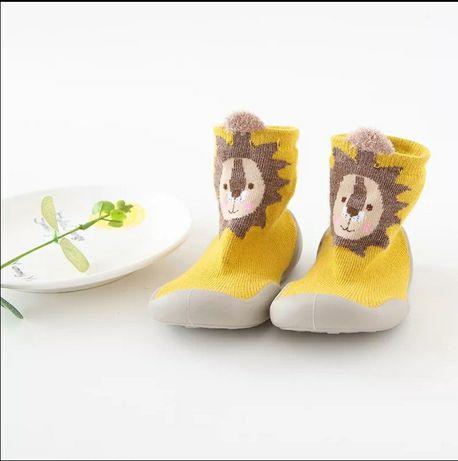 Ботинки детские, для первых шагов, унисекс, мягкая резиновая подошва