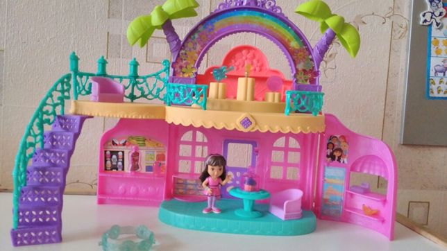Fisher-Price кафе Доры Даша и друзья Nickelodeon Dora and Friends Cafe