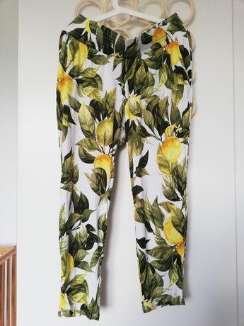 Spodnie ciążowe letnie hm