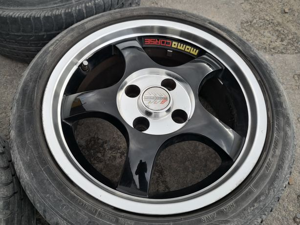 "Felgi Momo Corse 15"" Citroen Saxo Vts, Peugeot 106 Rally 4x108"