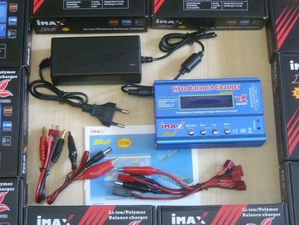 Зарядное с блоком питания iMAX B6 80W 5A LiPo Liion LiFe аккумулятор