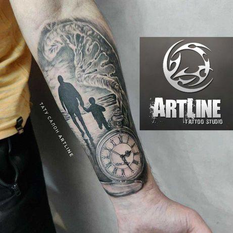 Тату салон ArtLine в Запорожье   татуировки, татуаж, пирсинг, удаление