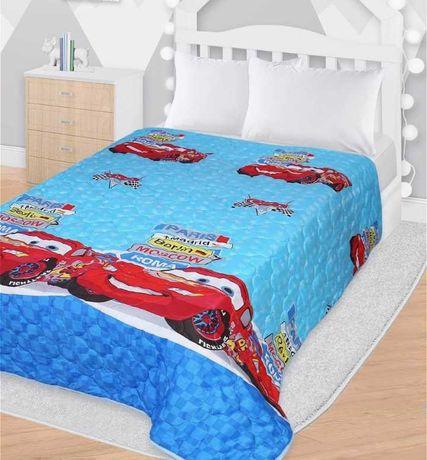 Narzuta na łóżko Cars dziecięca 140x200cm pled