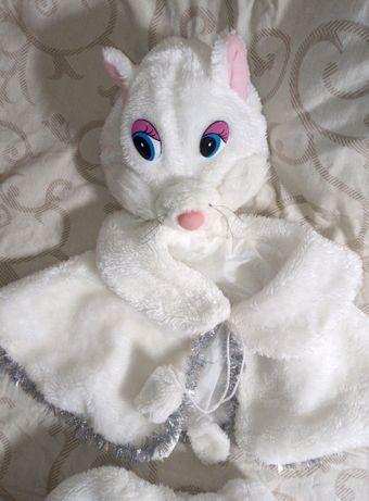 Новогодний костюм Кошка для девочки. Карнавальный. 104р. 3-5 лет.