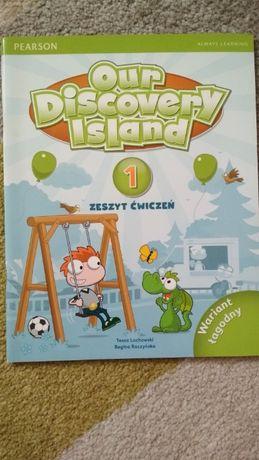 Our Discovery island 1, zeszyt ćwiczeń, wariant łagodny, Pearson
