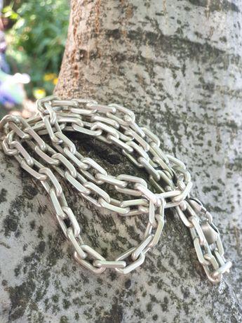 Серебряная якорная цепочка на шею 925прб