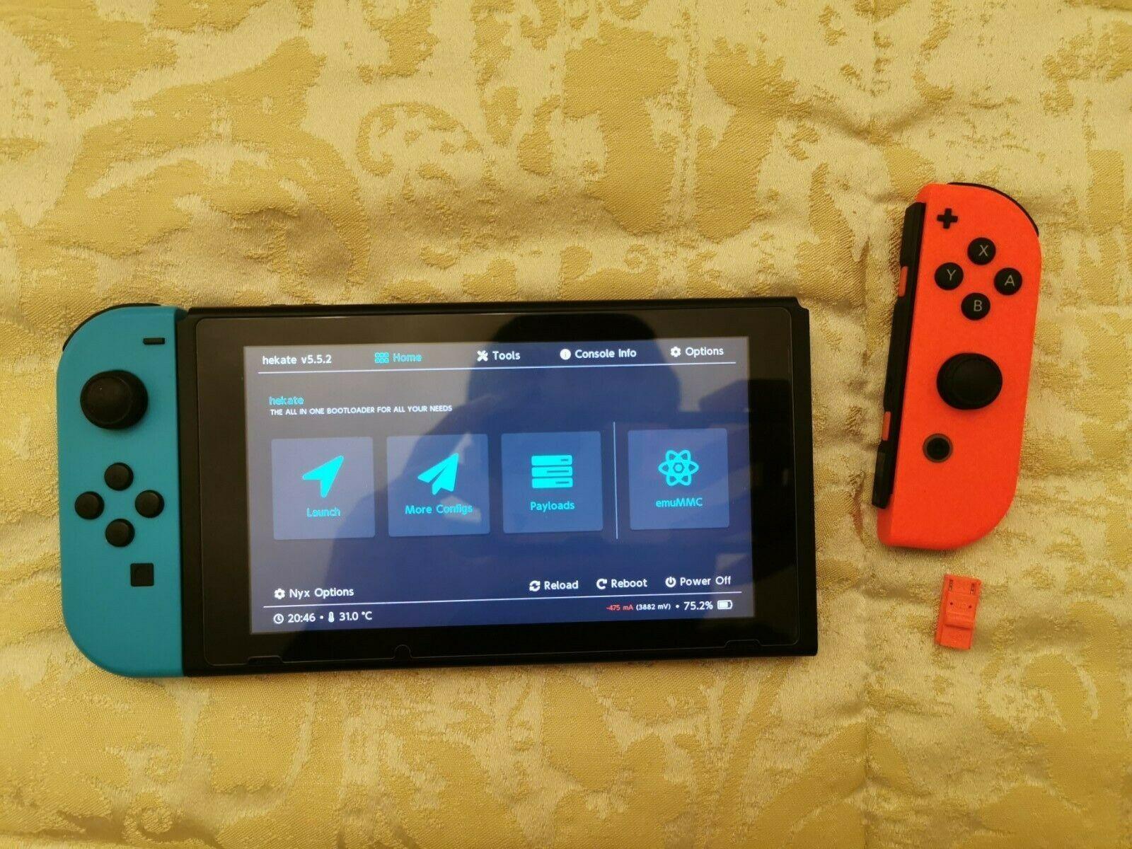 CFW dla konsol PS3-4, Nintendo switch rev1, ps vita, psp