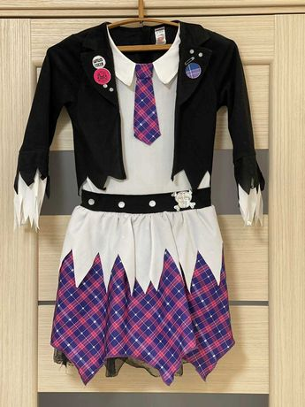 Карнавальный костюм Монстер Хай 13-14 лет платье Хеллоуин карнавал