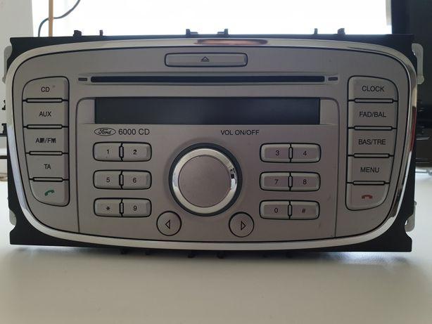 Radio fabryczne Ford 6000CD (FDC 200)