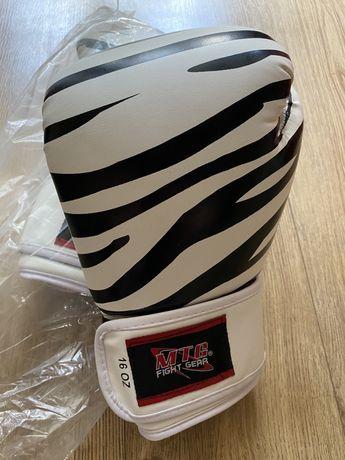 NOWE rękawice bokserskie tajskiej firmy MTG rozmiar 16oz