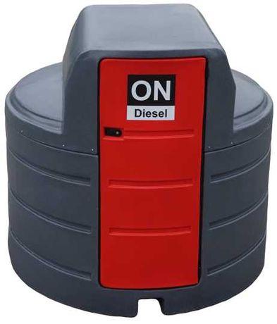 Zbiornik dwupłaszczowy na paliwo 2500L