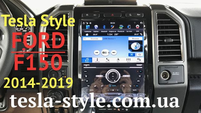 Штатная Магнитола Tesla Style Ford F150 2014-2019