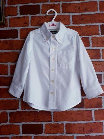 Белая хлопковая рубашка без грамма синтетики