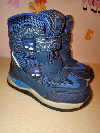 Зимние термо ботинки сапоги сапожки для мальчика
