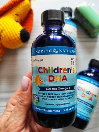 Nordic Naturals, рыбий жир для детей с года, 119 мл