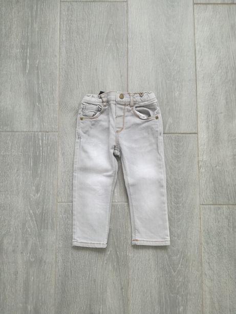 Spodnie jeansy zara 86