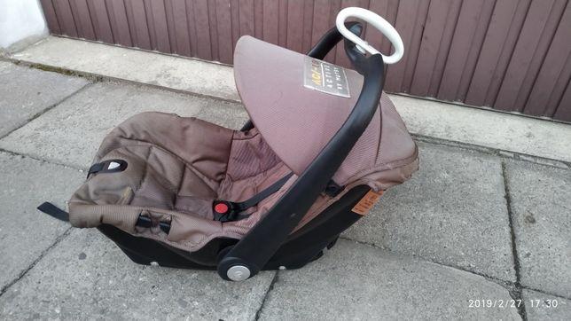 Fotelik nosidełko 0-13kg + śpiworek gratis