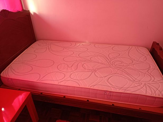 Cama - solteiro (+colchão)