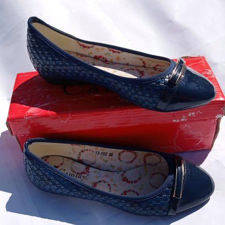 Балетки женские 36 размер туфли