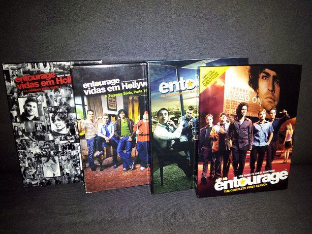 """DVD Série: ENTOURAGE """"Vidas em Hollywood"""" - 1ª ; 2ª ; 3ª Temporada"""