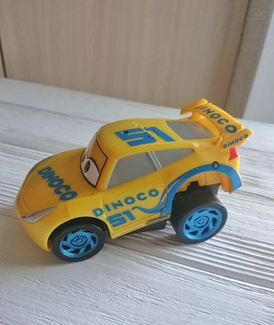 Машинка cars диноко круз dinoco macqueen  тачки инерционная