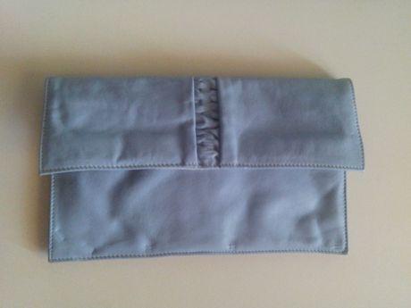 Клатч из натуральной кожи, шкіряна жіноча сумочка-косметичка, шкіра