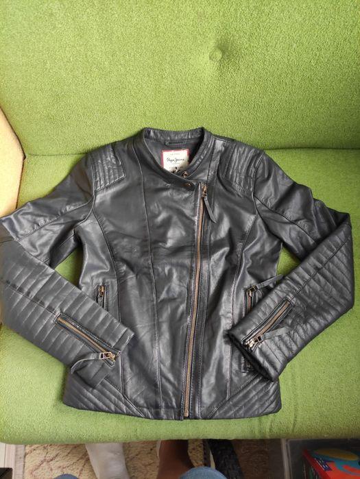 Кожаная женская куртка Pepe jeans Киев - изображение 1