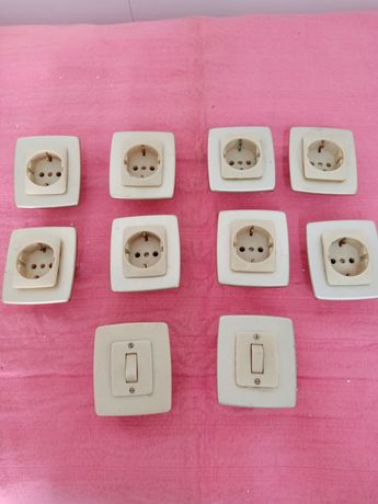 Material eletrico/tomadas interruptores