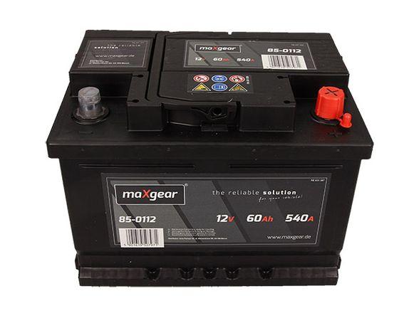 Akumulator maxgear 60ah/540a Rybnik