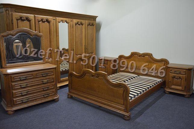 Piękna Sypialnia Dębowa / Łoże 140 lub 150