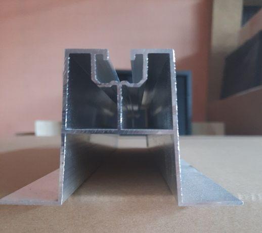 Uchwyt mostek trapezowy wysoki 330x100x40 mm, Profil fotowoltaika