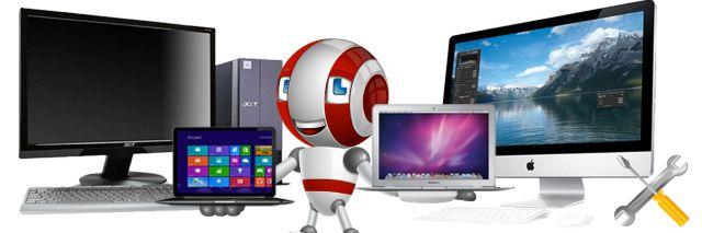 Аппаратный и программный ремонт компьютеров, ноутбуков