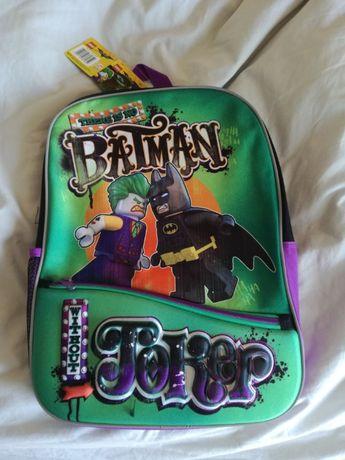 Mochila escola Lego Batman e Joker