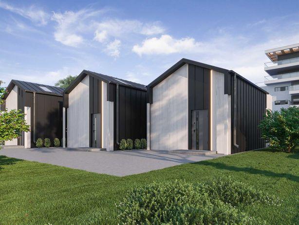 Dom do samodzielnego montażu Nowoczesna stodoła 35 m2 Kredyt Leasing