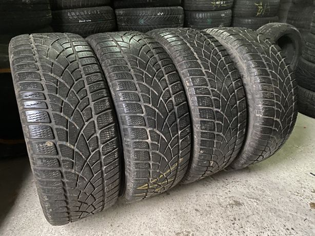 5.3 mm 255/55 R18 Dunlop Sp Winter Sport 3D Шины зимние бу