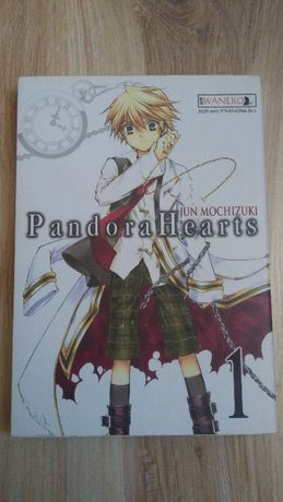 "Manga ""Pandora Hearts"" tom 1, Waneko"