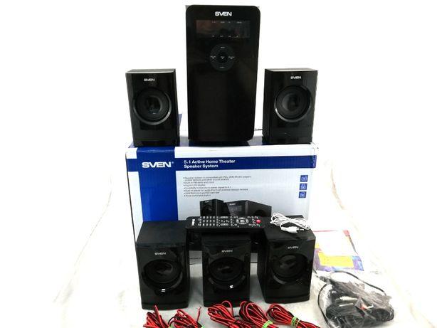 Głośniki Komputerowe 5.1 SVEN HT-200 80W USB Gwarancja