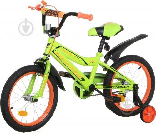 """Новый детский велосипед Formula 9""""(23 см) Cross салатовий RET-FRK-16"""