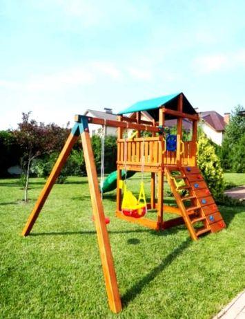 Детские игровые площадки из натурального дерева!