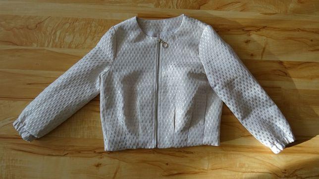 kurtka dziewczęca wiosenna w rozmiarze 116