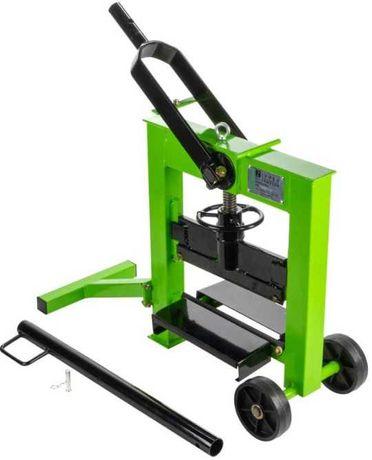 Maquina manual para corte cortadora de pavê capac. max. 330x140 mm