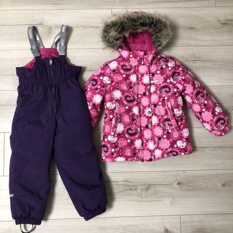 Зимний комплект, комбинезон на девочку Lenne 110