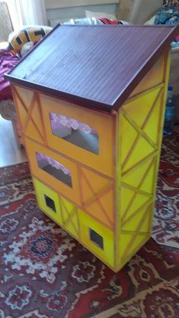 Продается детский домик для кукол самодельный