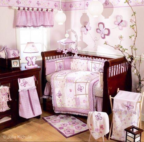 Набір на дитяче ліжечко Cocalo + спальник Набор детский бортик плед од